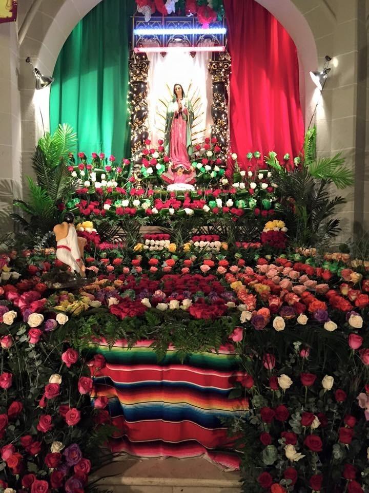 Celebraci 243 N De Nuestra Virgen De Guadalupe Annunciation